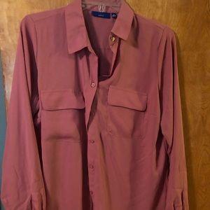 NWT Apt 9 beautiful pink blouse